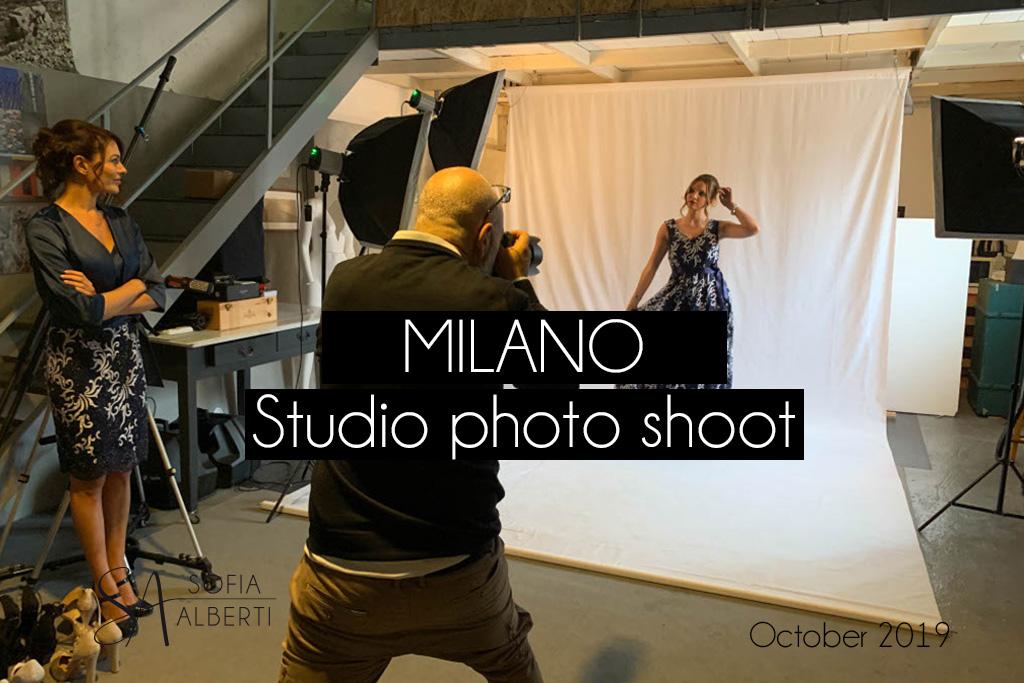 Studio photo shoot Milano Sofia Alberti